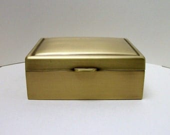 Vintage 1940 39 s carmen d f briggs co gold filled for Things remembered jewelry box