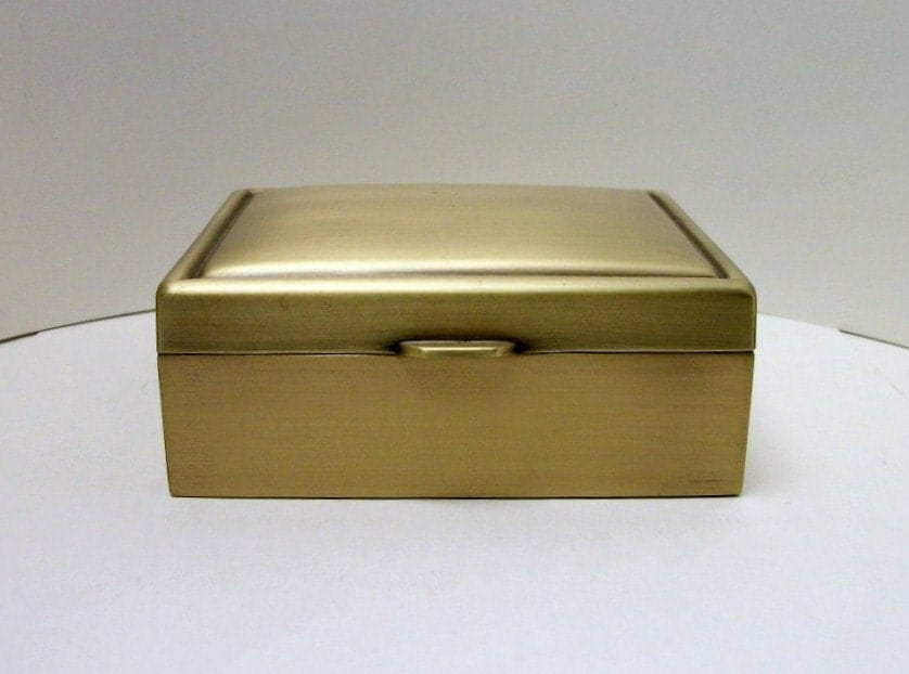 things remembered jewelry box vintage things remembered jewelry box brass 9058