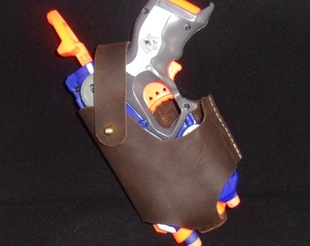 Handcrafted Leather Nerf Firestrike Holster
