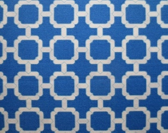 OUTDOOR Pillow Cover in a Blue Geometric Print