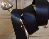 """1 1/2"""" Double Face Satin Ribbon,  Black Ribbon, Sewing, Crafts."""