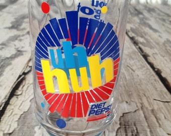 Vintage diet Pepsi glasses 9 count