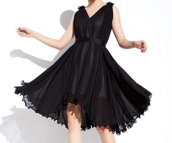 black dresses for women summer dresses C092