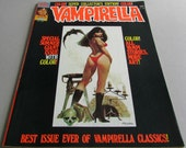 Vintage Vampirella Comic Book, Choice of Issue No. 55, or No. 56, Graphic Novel by Warren Magazine, October or December 1976