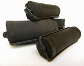 Midnight Black Foam Hair Roller Covers 6 Jumbo or Set of 12