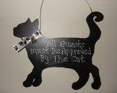 Hanging Cat for Wall or Door