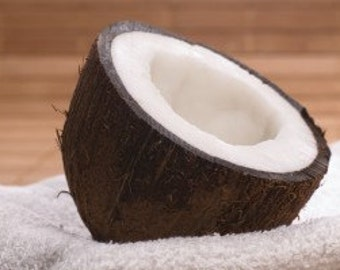 1oz Natural Coconut Perfume Oil, Coconut Fragrance Oil, Coconut Scent, Lotions and Potions