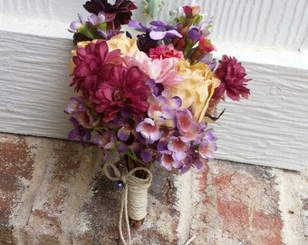 Custom Order Vintage Hand-held Posy or Corsage