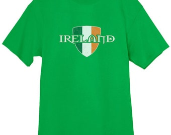 Mens T-shirt / Ireland Crest