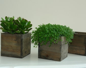 wood box wood boxes woodland planter flower box rustic pot square vases for wedding wooden boxes rustic chic wedding