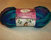 Yarn Bee Chrysalis Bog Copper (Shades of Blue and Purple) Ruffle Scarf Yarn