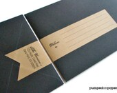 personalized banner wraparound address labels - set of 12