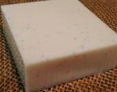 Birthday Cake vegan body soap