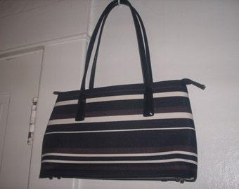 vintage Stripe Handbag