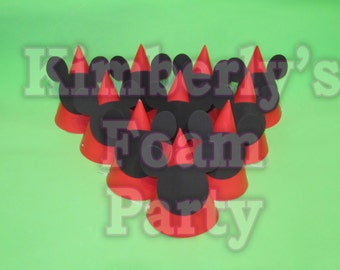 10 Mickey Mouse party hats