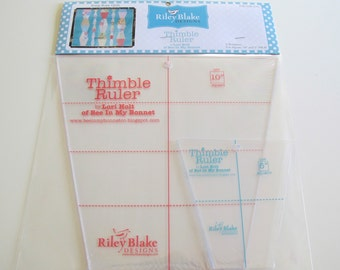 Thimble Ruler/Templates