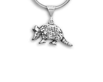 Sterling Silver Armadillo Pendant