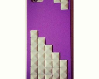 Handmade studded iphone SE, iPhone 5, iPhone 5s case