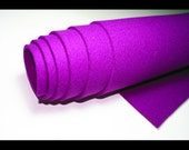 "100% Merino Wool Felt - 3mm - 12"" X 12"" - Purple"