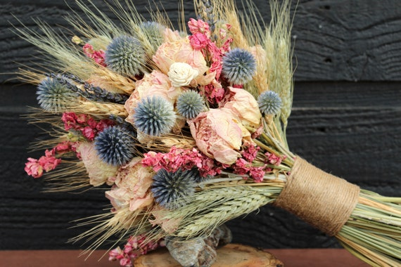 Bridal Bouquet With Dried Flowers: Best ideas about dried flower ...