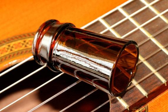glass beer bottle neck guitar slide handmade in nashville. Black Bedroom Furniture Sets. Home Design Ideas