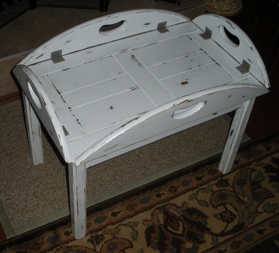Coffee Table Cottage Chic French Country Removable