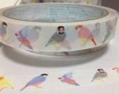 Deco Tape Finch / Java Sparrow / Bird Tape