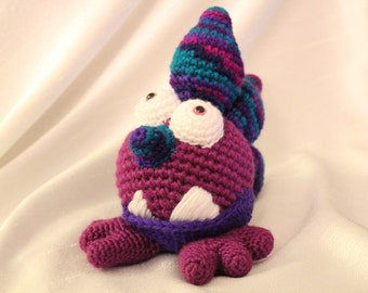 Amigurumi Crochet Pattern - Plato the Gumball Dragon
