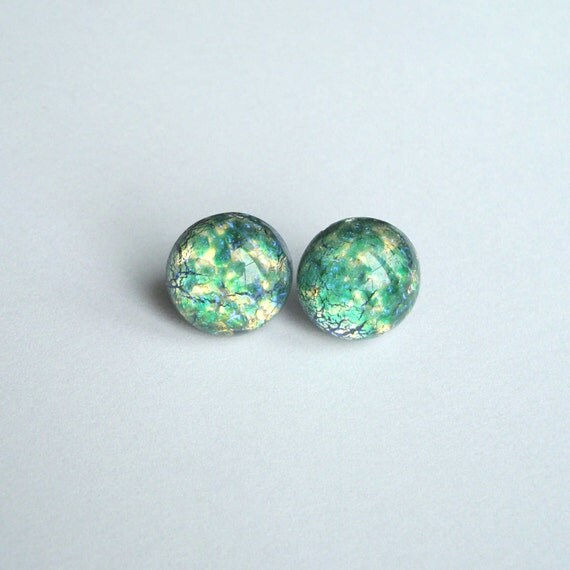 how to make cabochon earrings