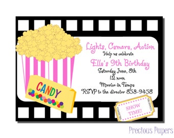 Movie Ticket Birthday Invitation is good invitations example