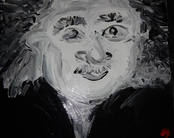 Albert Einstein (Painting)