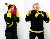 Evolution Dark -- Handmade Anti-Pill Fleece Hoodie / Sweatshirt