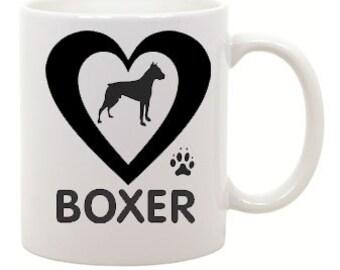 I love Boxer Coffee Mug 0022