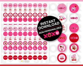 Free printable kiss label 108 just b cause for Free hershey kisses labels template
