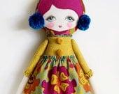 Matilda - PDF Pattern Cloth Doll
