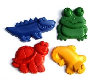Jumbo Critter Crayons -Set of 4