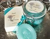 Avalon Soap And Bath Salt Set  Made With Goats Milk, Shea, Jojoba, Olive Oil, Aloe -Literature Collection-
