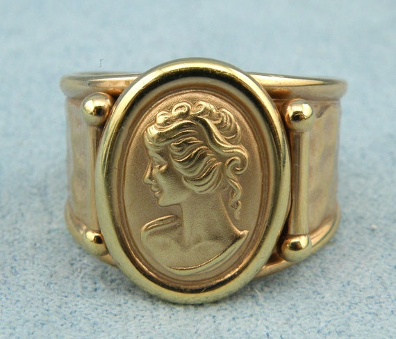 Milor Italy Gold Ring