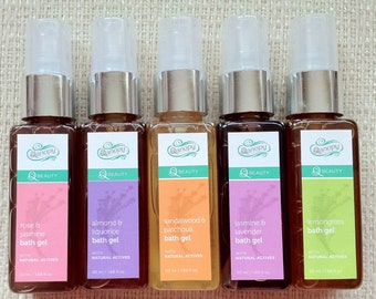 All Natural Plant Based Body Wash in Refereshing Fragrances 50 ml