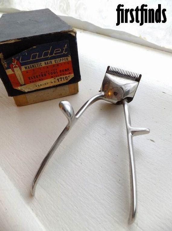 german metal hair clippers vintage barbershop beard trimmers. Black Bedroom Furniture Sets. Home Design Ideas