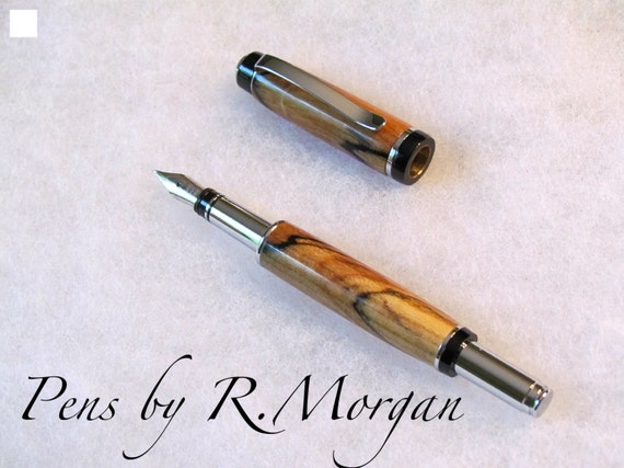 Spalted Maple Fountain Pen