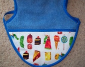 Baby Apron- Hungry Caterpillar Catch Pocket Toddler Size