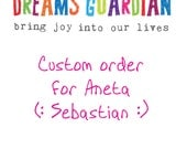 Custom order for Aneta  - Sebastian