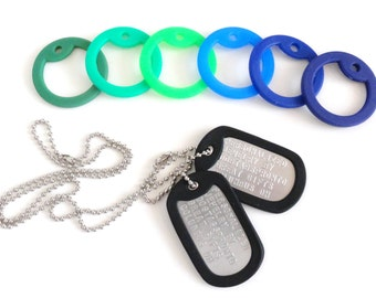 Ring Bearer Gift, Personalized Gift for Him, Personalized Dog Tag, Wedding Keepsake