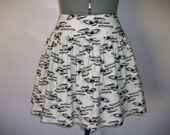Trekkie Comic Book Skirt