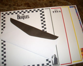 Beatles Stationery/envelopes