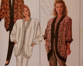 "Jacket, Pants & Skirt -1980's - Butterick Pattern 5867   Uncut   Sizes 8-10-12  Bust 31.5-32.5-34"""