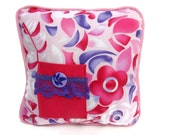 Girls Personalized Tooth Faikry Pillow , Pink and Purple Pocket Pillow