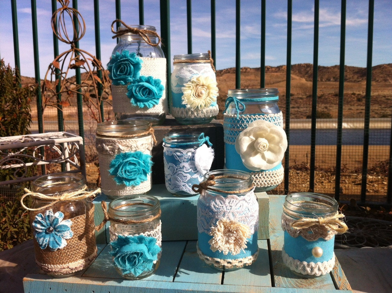 Wedding Ideas Using Mason Jars: Request A Custom Order And Have Something Made Just For You