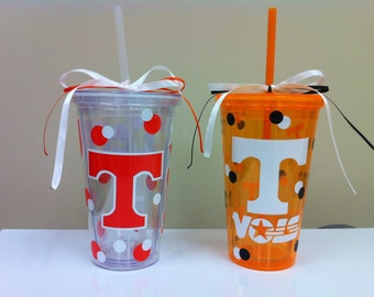 Personalized Tumbler College Tennessee